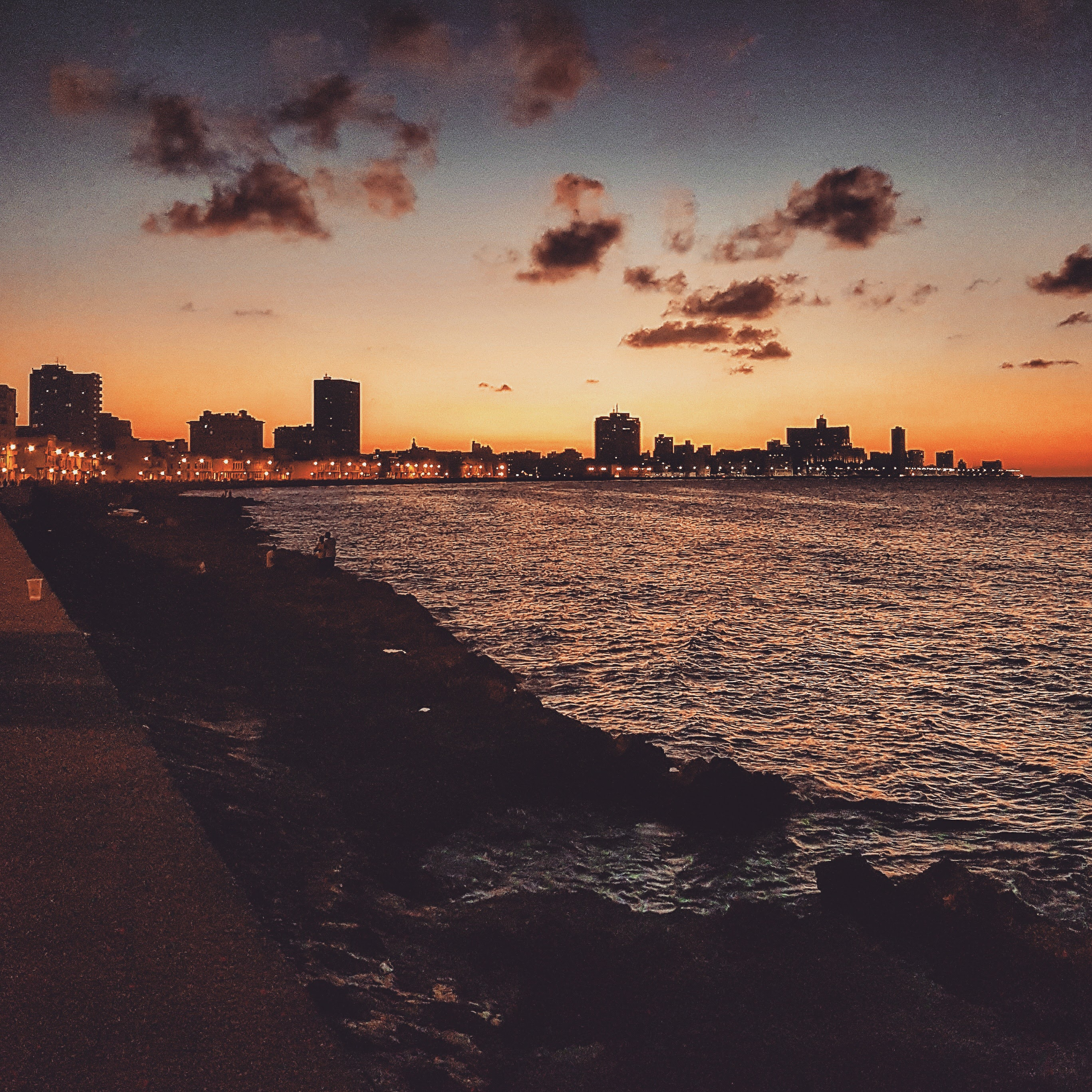 malecon_sunset