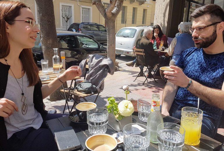 To «Κήτος» ανάμεσά μας: Η Ούρσουλα Φωσκόλου κι ο Νίκος Φιλντίσης σε μια κουβέντα… λογοτεχνική