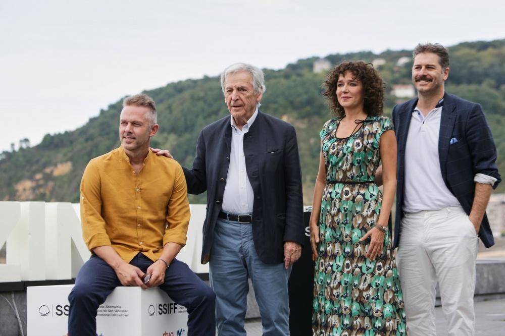 Christos Loulis, Costa Gavras, Valeria Golino,Alexandros Bourdoumis